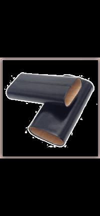 Three-Finger Leather Cigar Case
