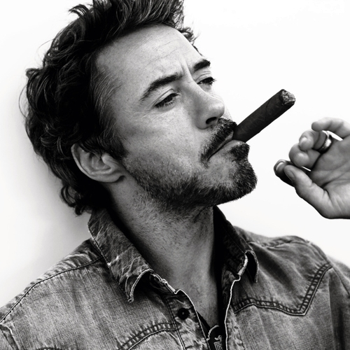 robert downey junior, robert downey, robert, downey, junior, cigar, smoking, smoker, custom tobacco